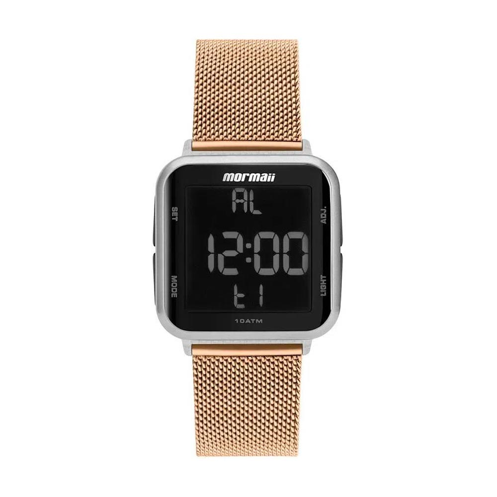 Relógio Digital Dourado Mormaii Mo6600ak/8j