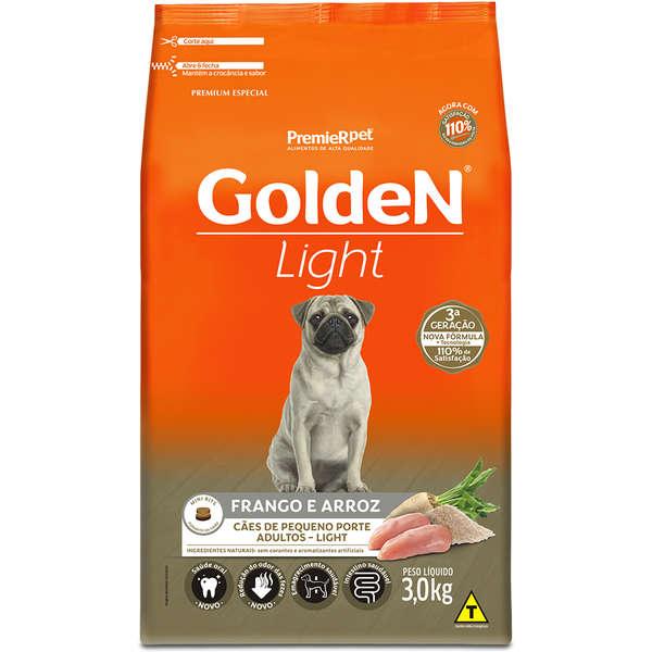 Ração Seca PremieR Pet Golden Cães Adultos Light Frango e Arroz
