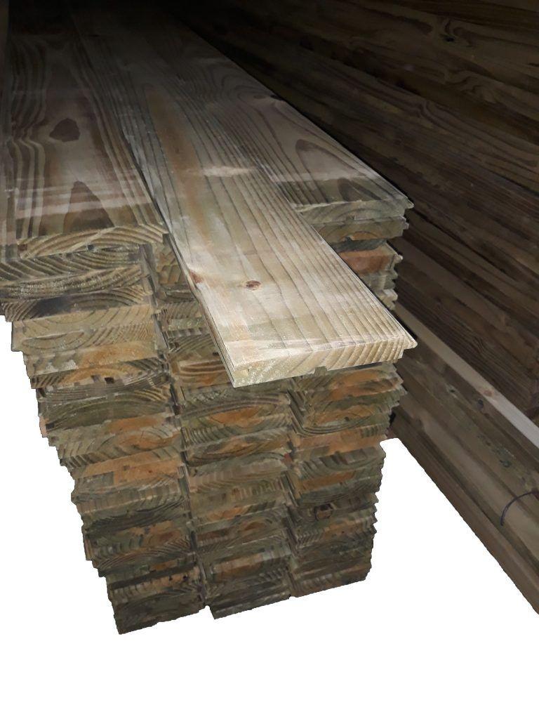 Assoalho Pinus Tratado em Autoclave 02x13x3,00