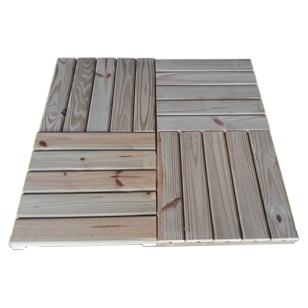 Deck Pinus Tratado Placa 45