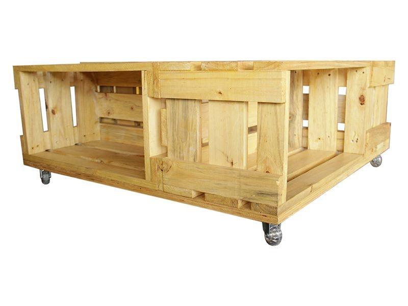 Mesa de Centro 4 Caixotes