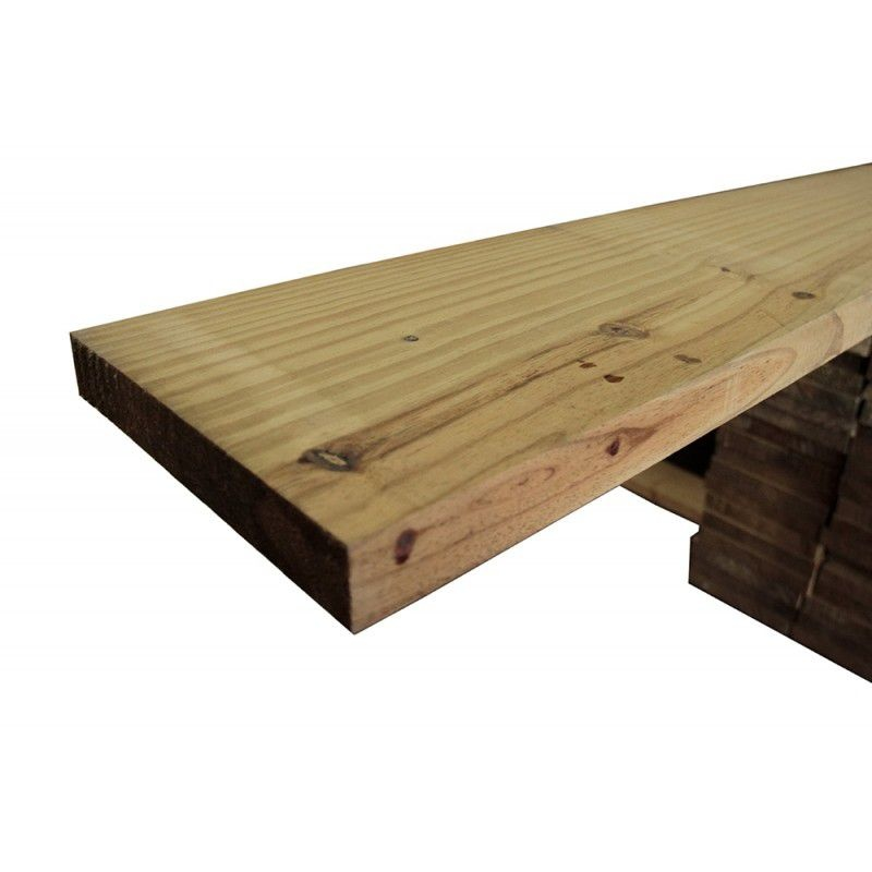 Prancha de Pinus Tratado em Autoclave 3,5x24x3,00