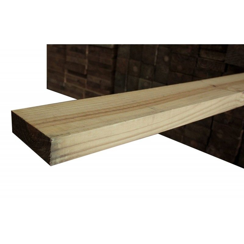 Viga de Pinus Tratado em Autoclave 4,5x14,5x4,00