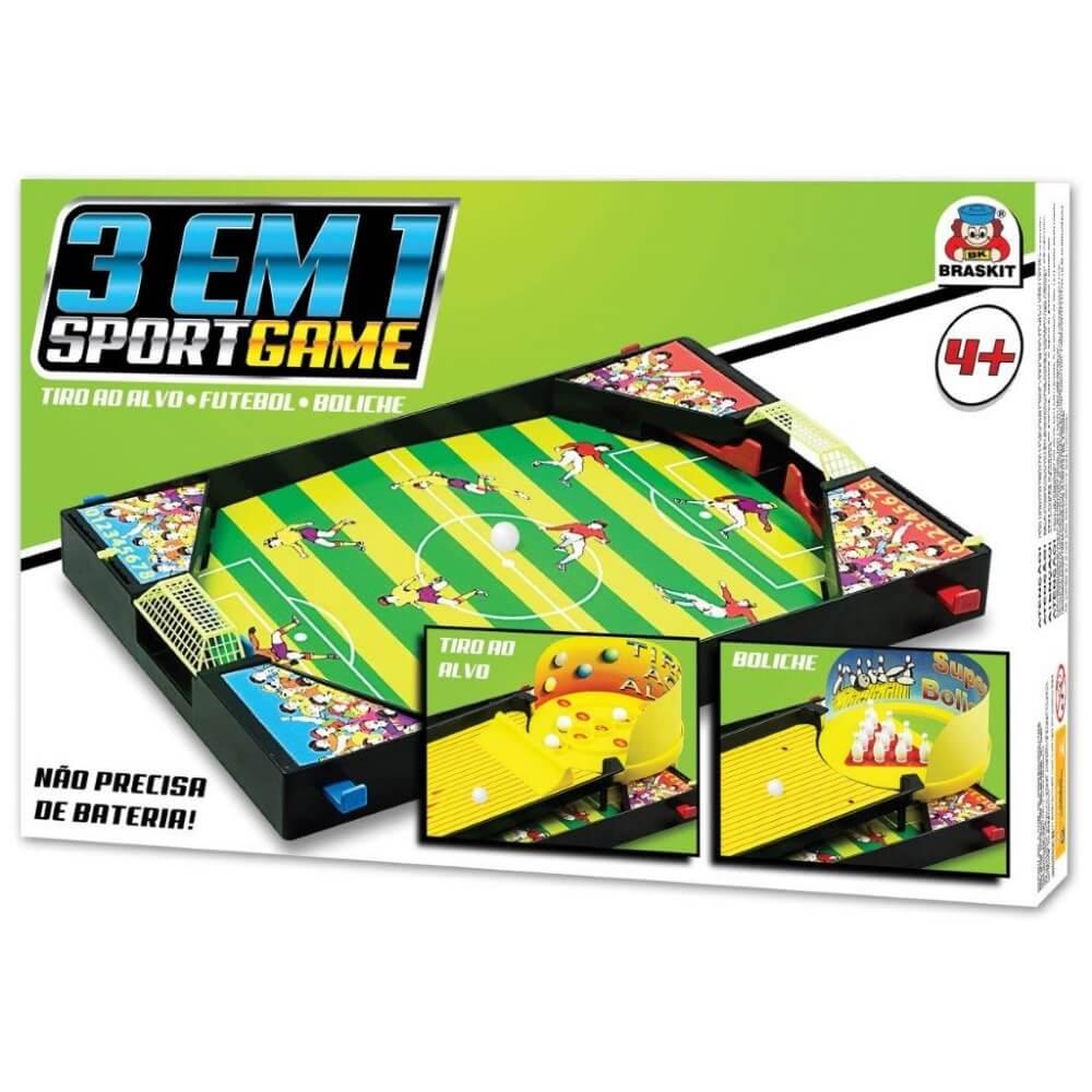 Jogo Sport Game 3 em 1 500a