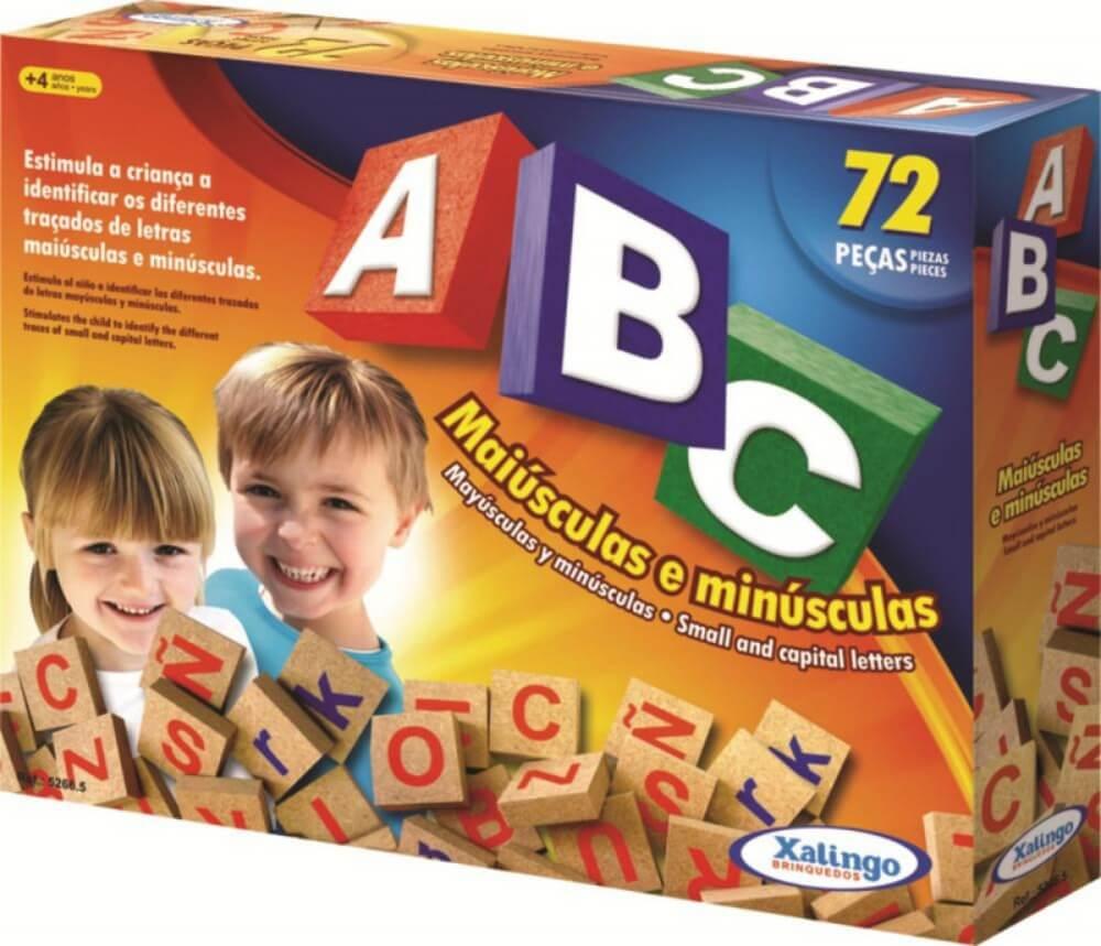 Brinquedo Educacional Abc Com 72 Peças 5266.5