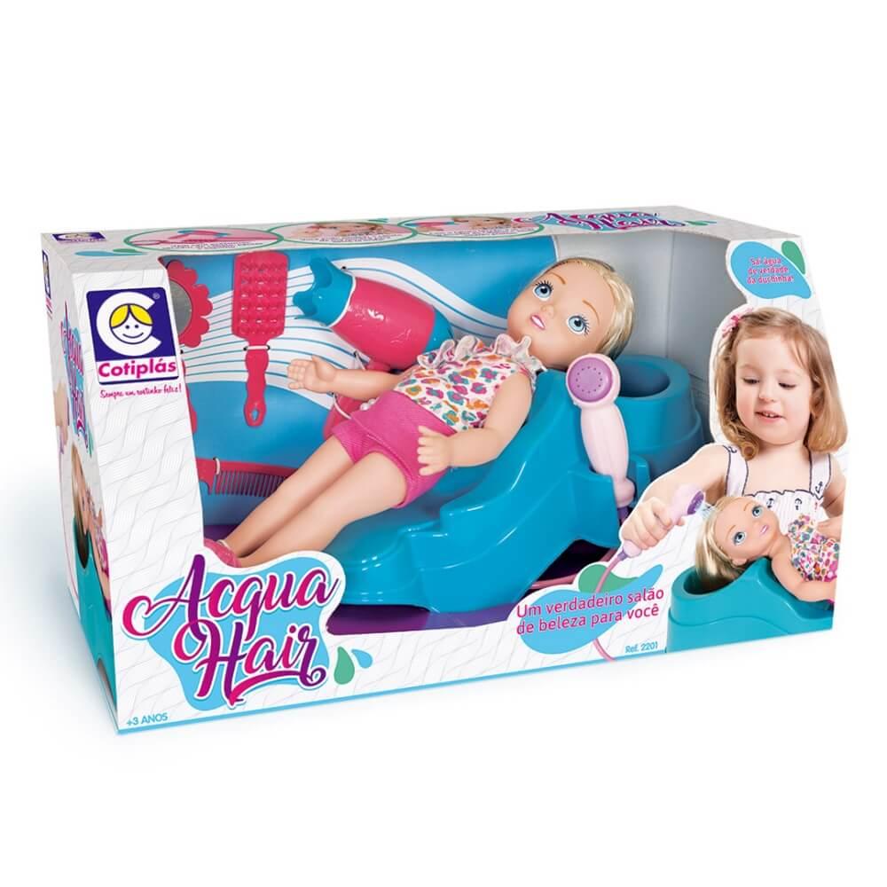 Boneca Acqua Hair 2201 - Cotiplás