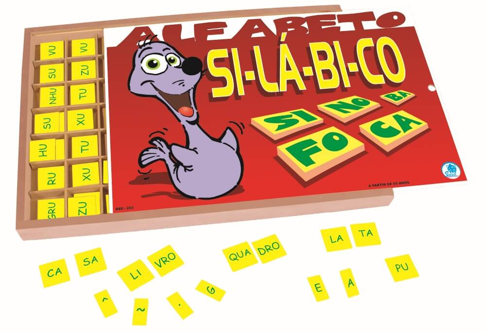 Alfabeto Silábico com 359 peças 203