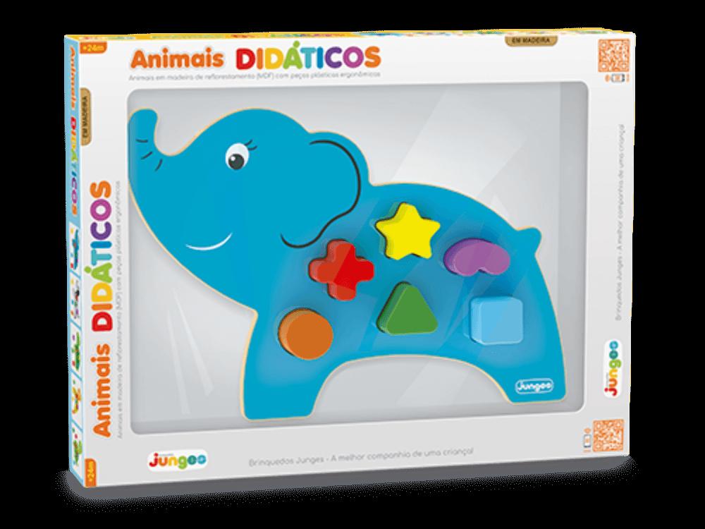 Animais Didáticos Elefante 860