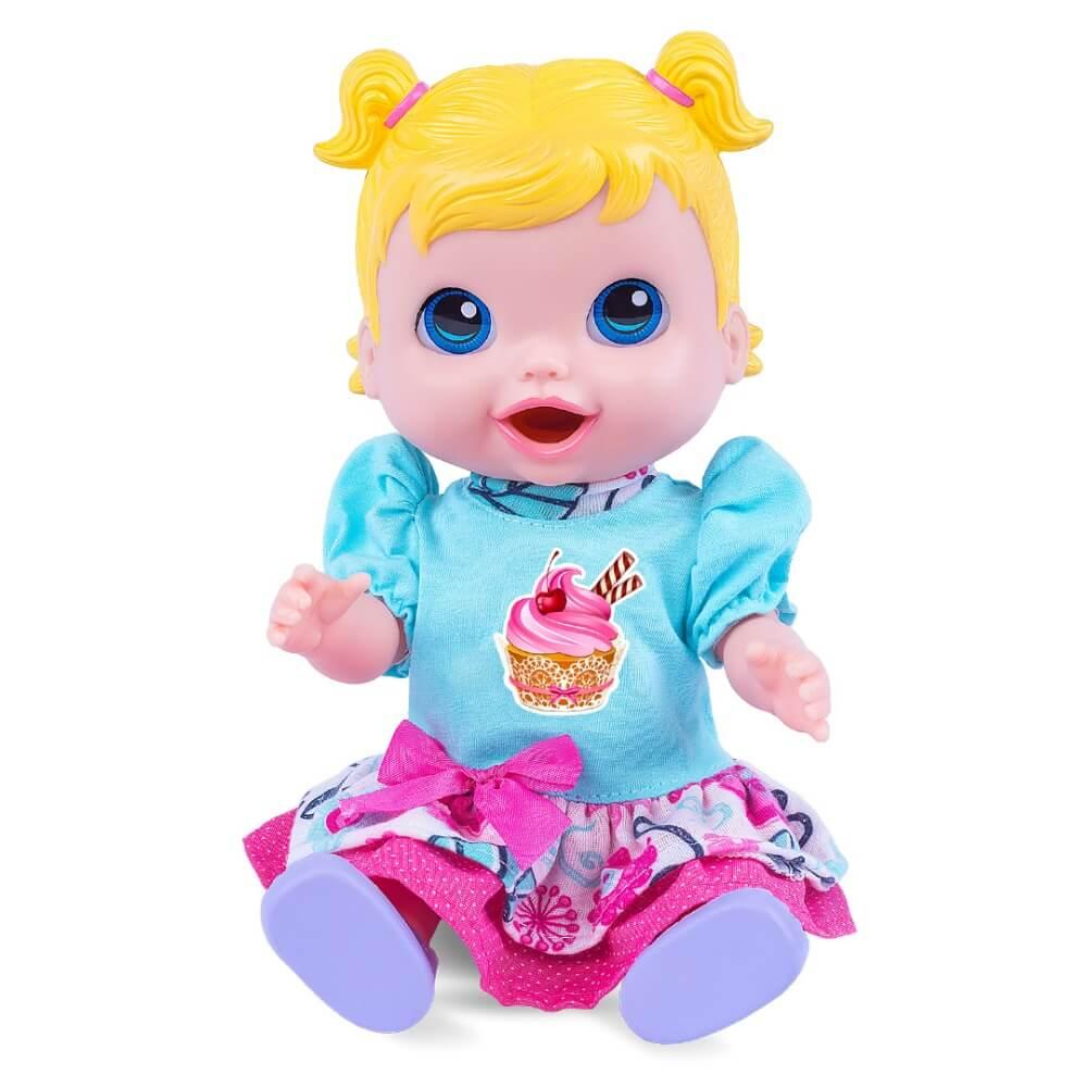 Boneca Baby Collection Bebê Comidinha 318