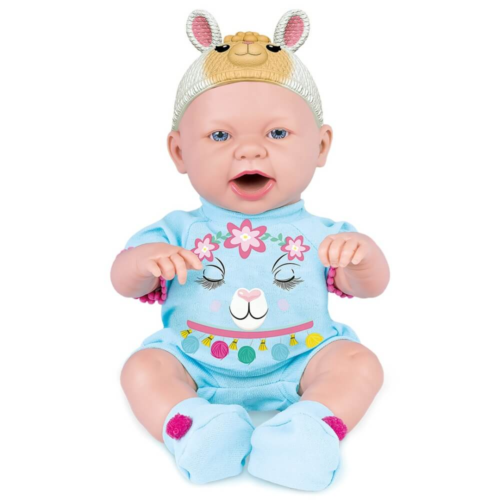Boneca Baby Ninos Hora Do Lanche Bichinhos 2396