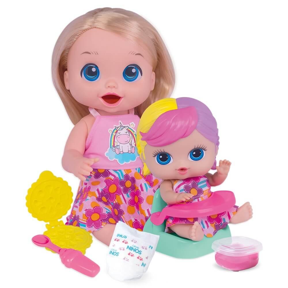 Boneca Papinha Sapeca Babys Collection 407