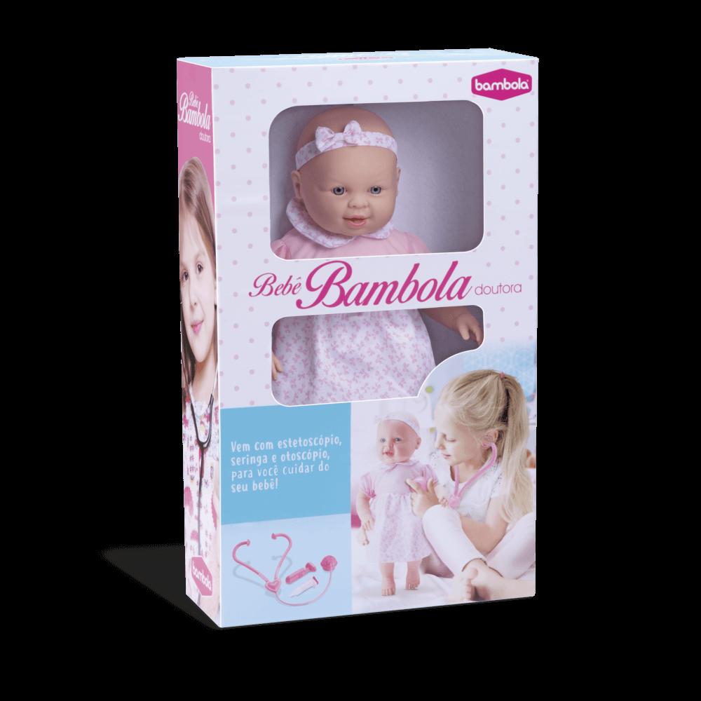 Boneca Bebê Bambola Médica 631