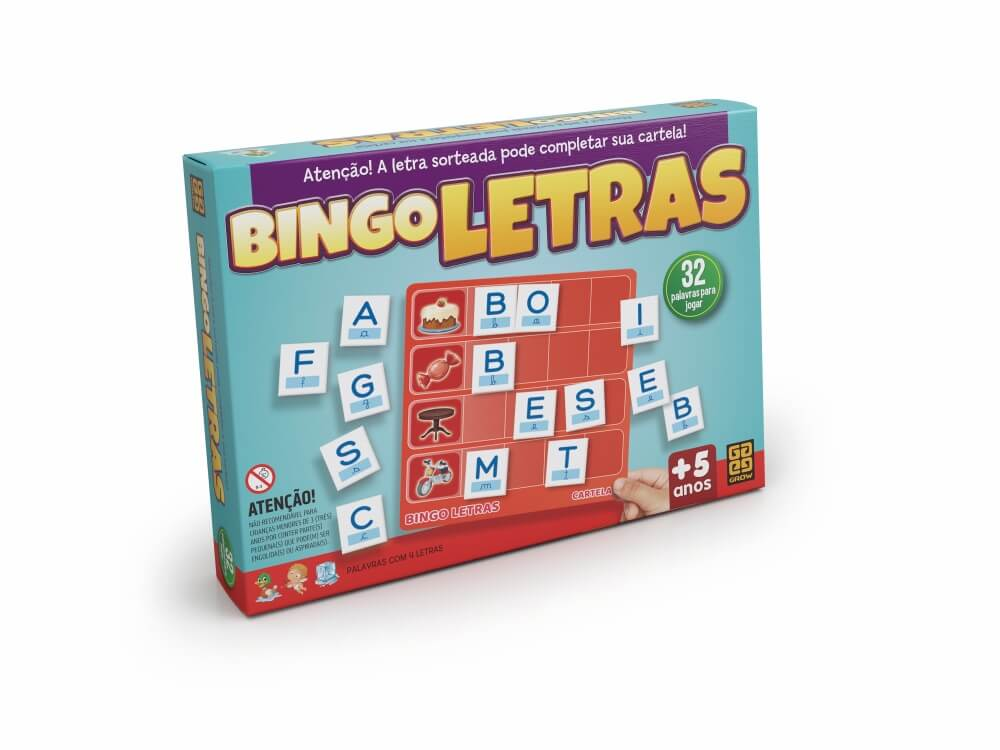 Jogo Bingo das Letras 2320