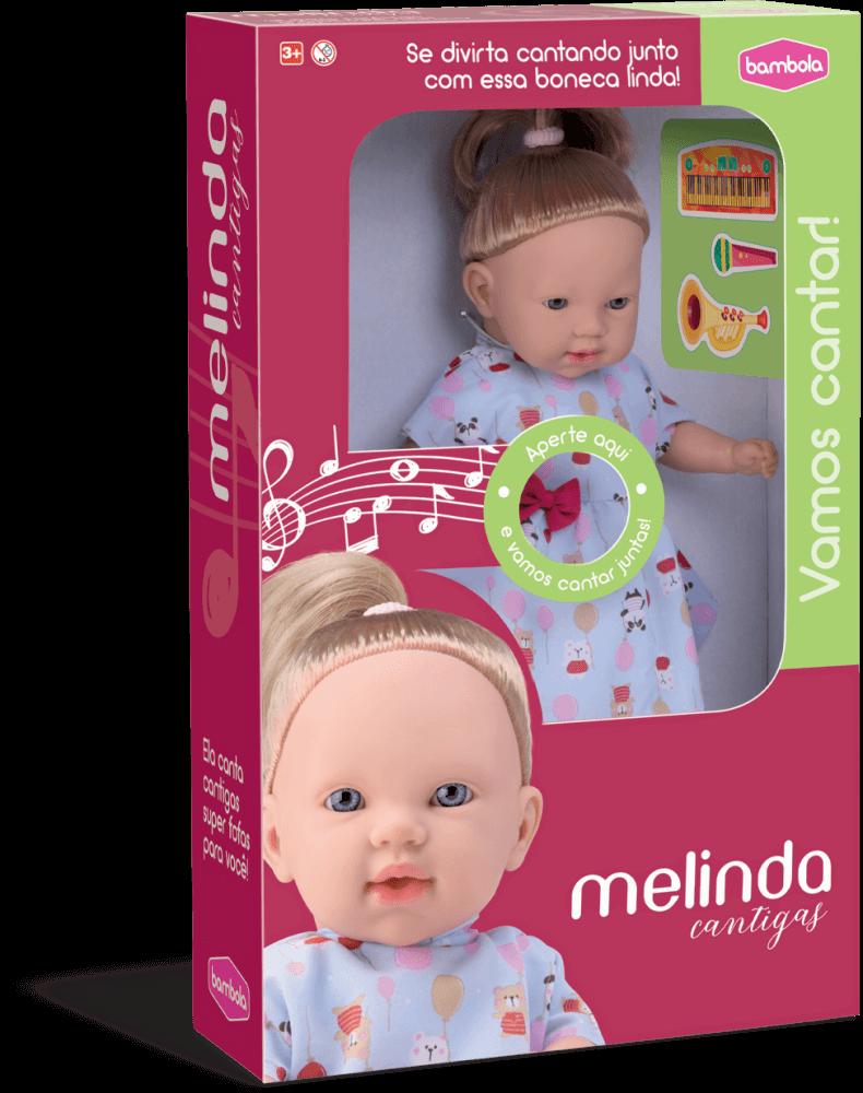 Boneca Melinda Cantigas 664