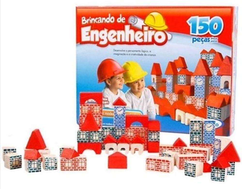 Brincando De Engenheiro 150 Peças Xalingo 53054