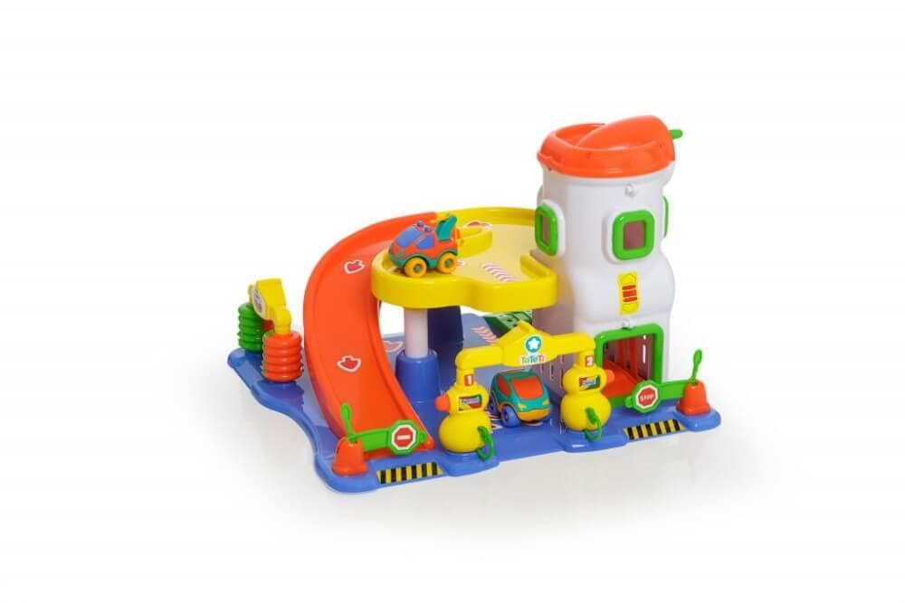 Brinquedo Postinho E Garagem Car Service 090