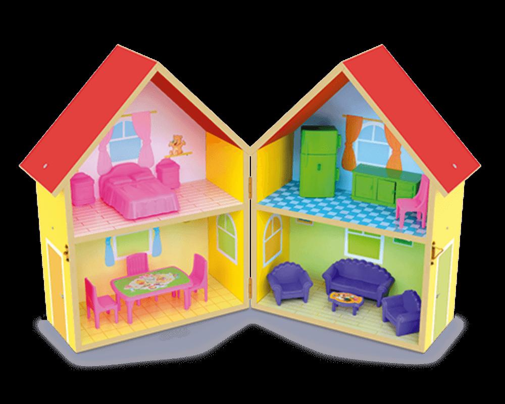 Casinha de Bonecas Yellow House 412
