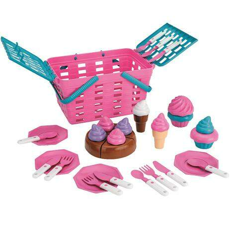 Cesta Kit Cup Cake Magic Toys 631