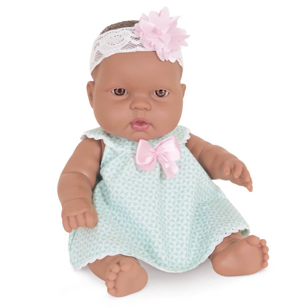 Boneca Coleção Baby Junior Bebezinho Negro 2220