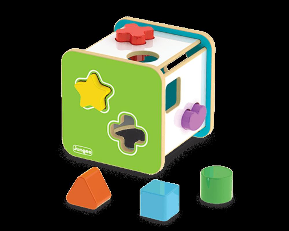 Cubo Didático Geométrico Junges 851