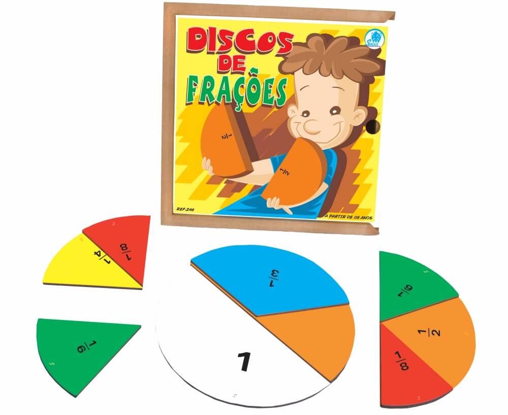 DISCOS DE FRACOES 246