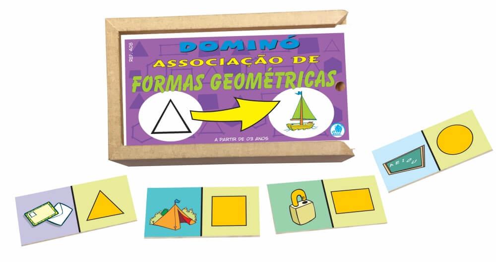 DOMINO ASSOCIACAO FORMAS GEOMETRICAS 408