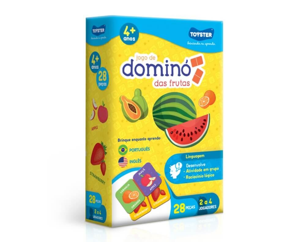 Jogo Dominó Das Frutas 2661