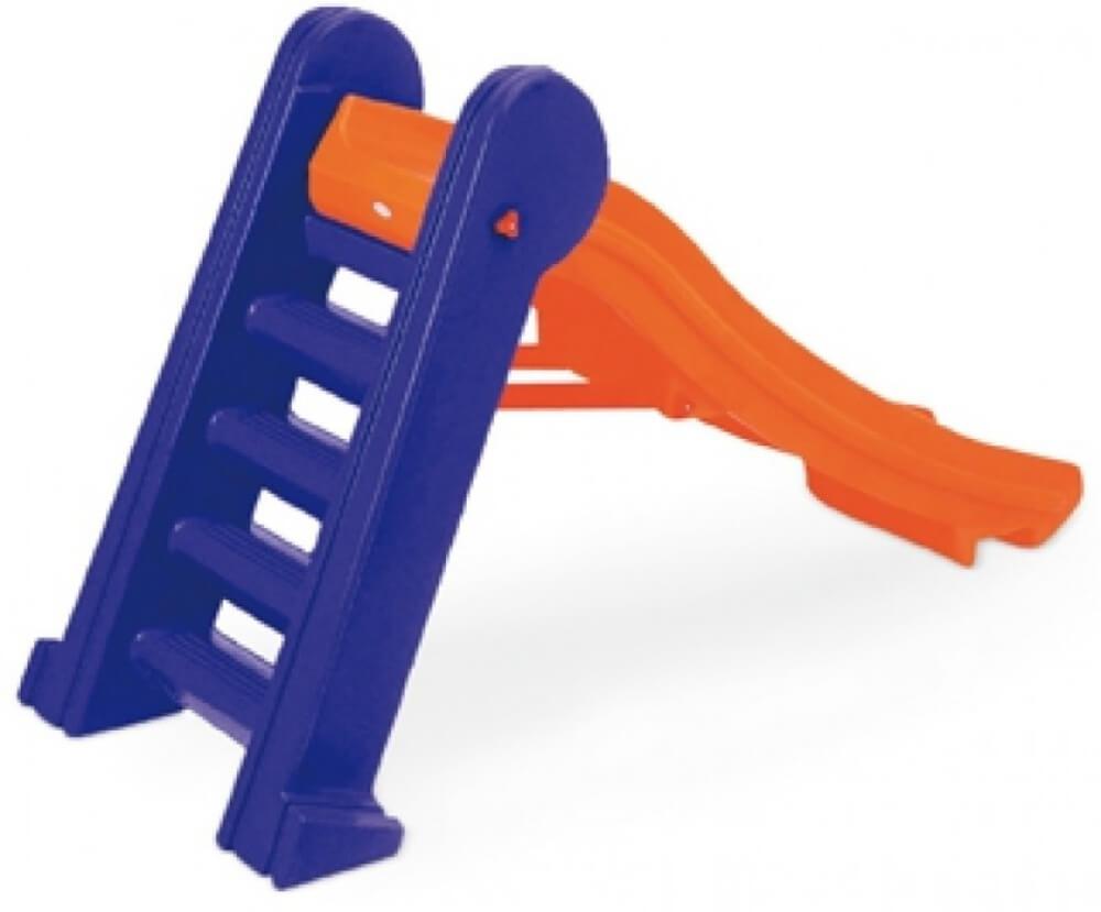 Escorregador Infantil Master Laranja e Azul