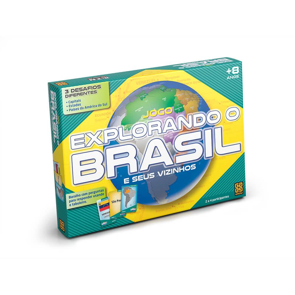 Jogo Explorando o Brasil - Grow 01658