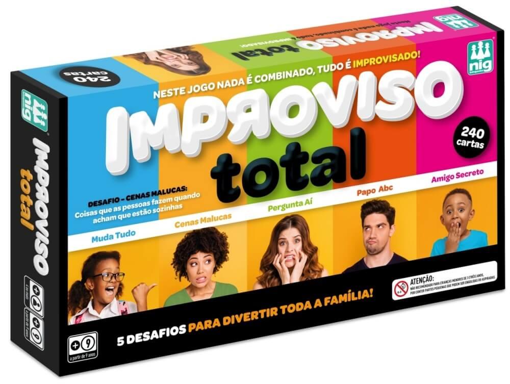 Jogo Improviso Total 1148