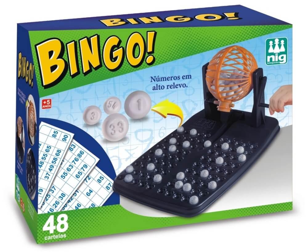 Jogo Bingo com 48 Cartelas 1000