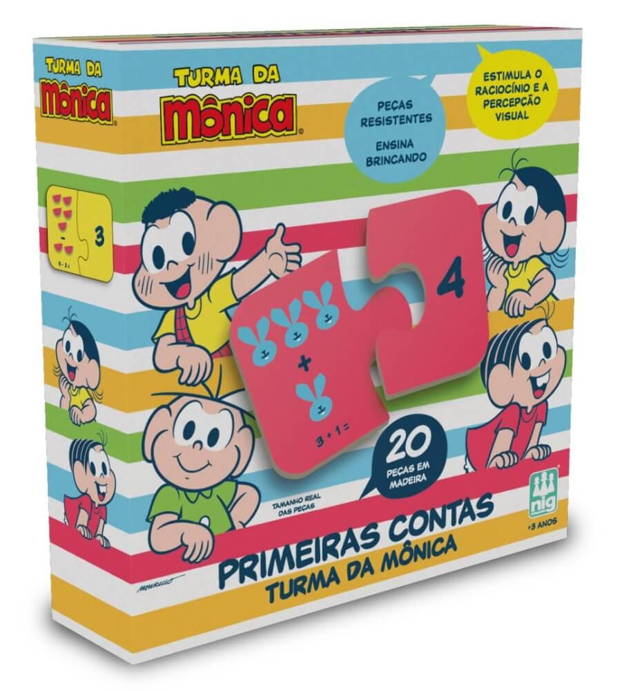 JOGO PRIMEIRAS CONTAS TURMA DA MONICA 764