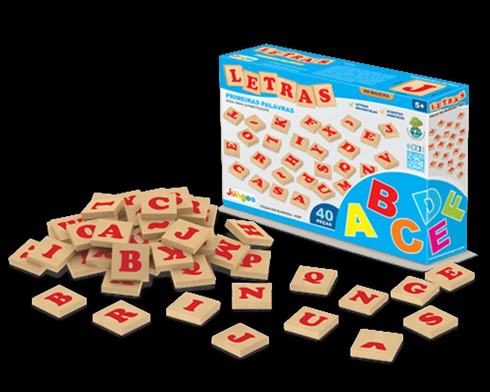 Jogo Letras 40 Peças 700