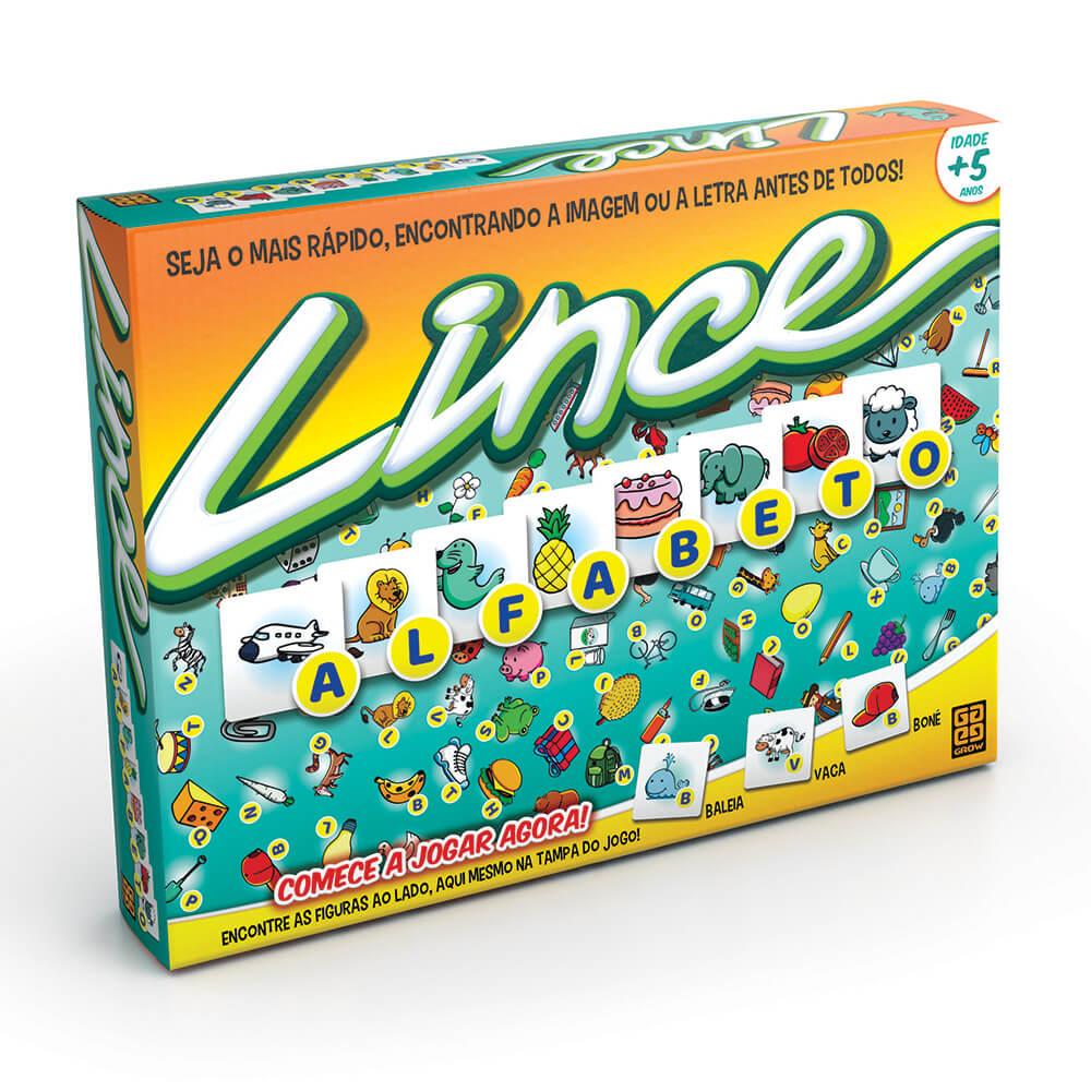 Jogo Lince Alfabeto - Grow 03448