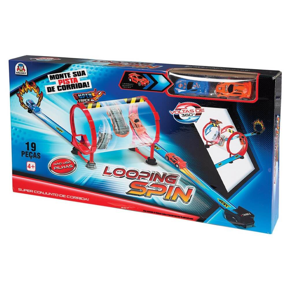 Pista Dupla Looping Spin 0401