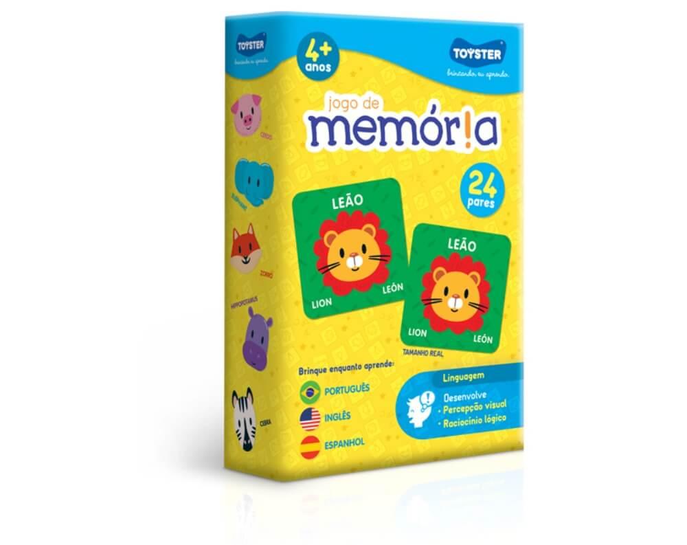 Jogo da Memória Português, Inglês e Espanhol 2566
