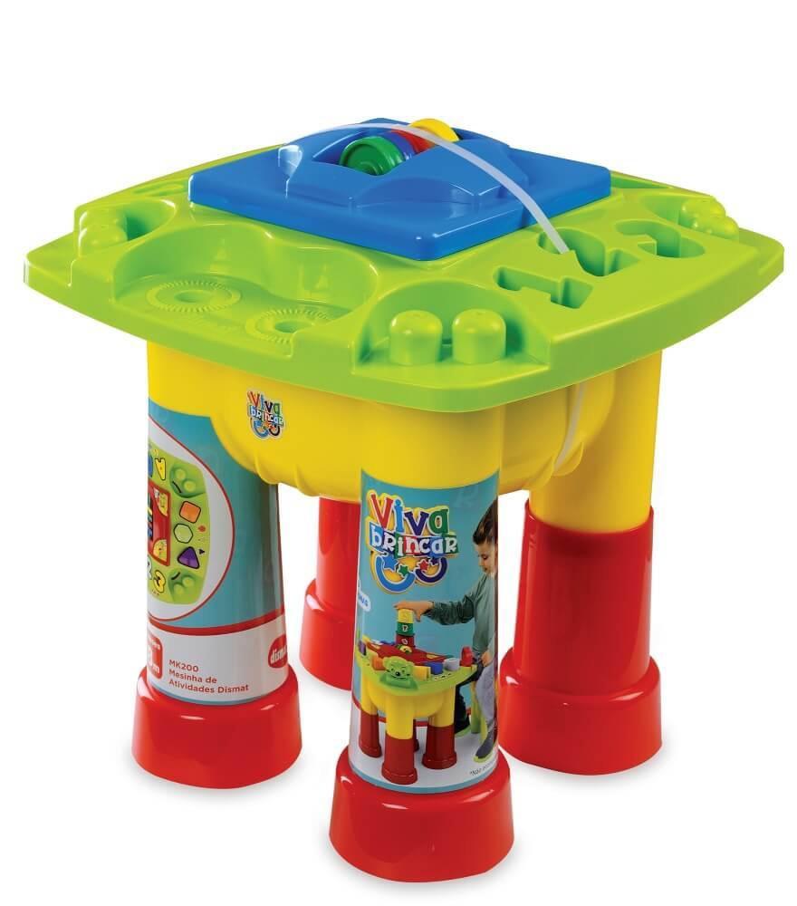 Brinquedo Educativo Mesinha de Atividades MK200