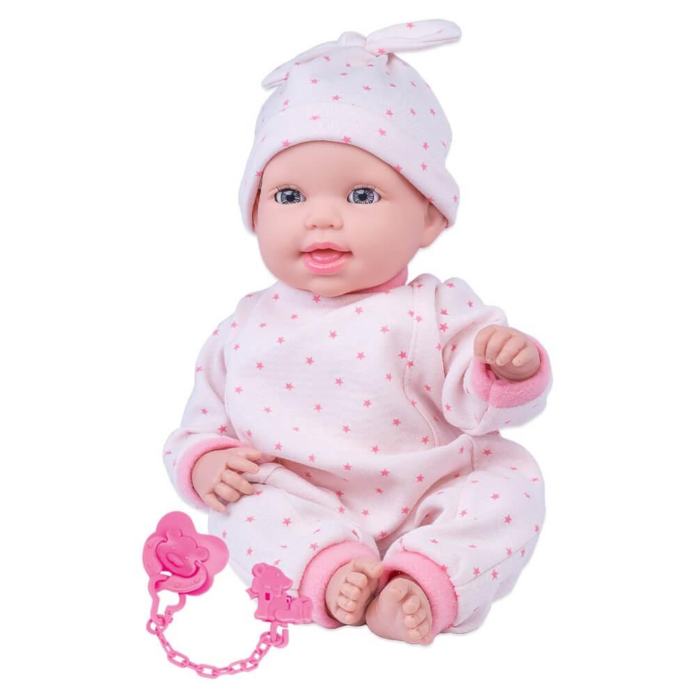 Boneca Miyo Menina Com Sons De Bebê 2391