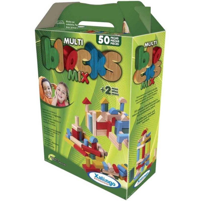 Multi Blocks Mix 50 Peças 5283.2