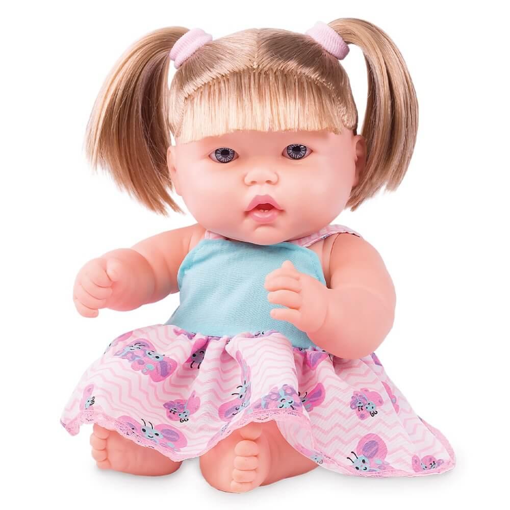 Boneca Neneca Com Cabelo 393