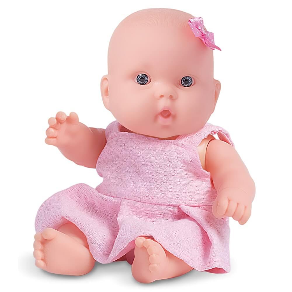 Boneca Nenequinha Clássica Vestido Pink 342