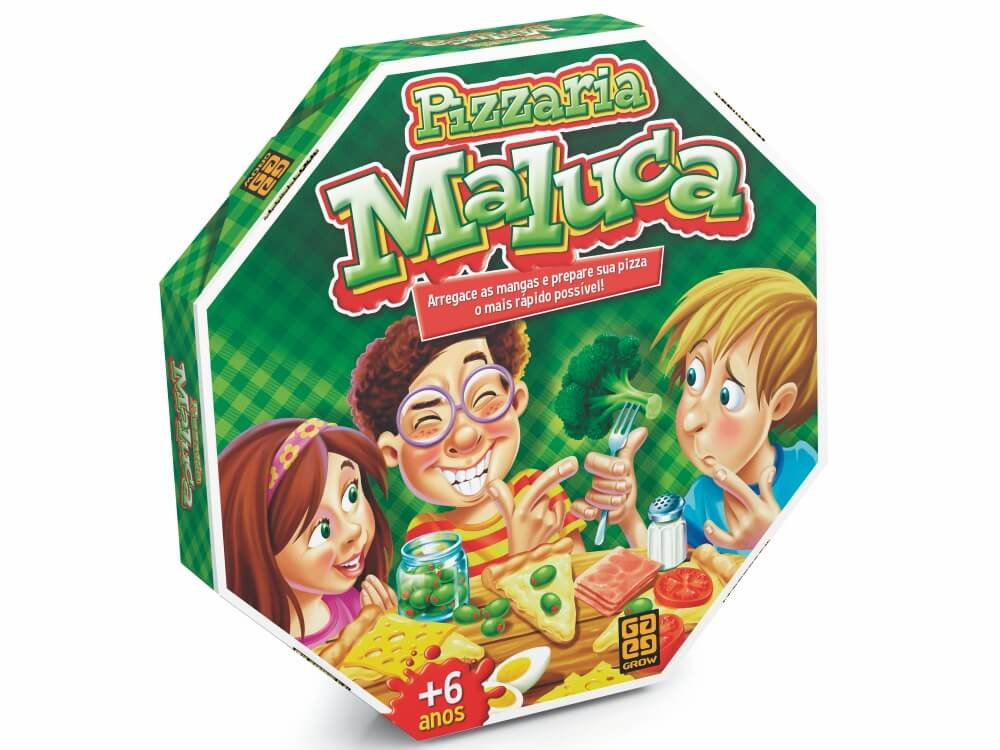 Jogo Pizzaria Maluca 01283