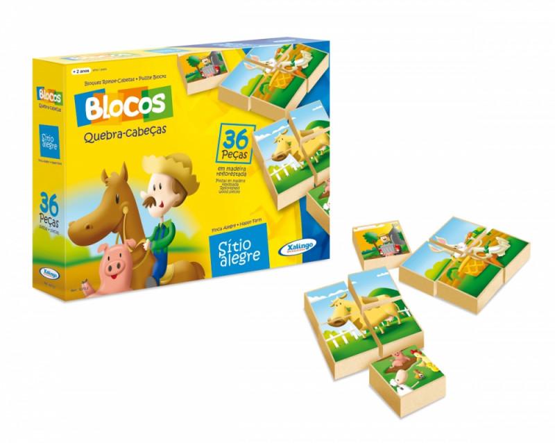Blocos Quebra-Cabeça Sitio Alegre 5273.2