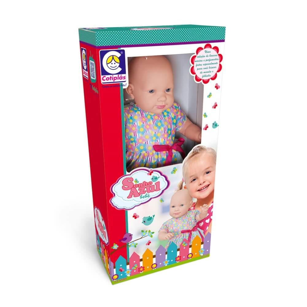 Boneca Sonho Azul Bebê 2199