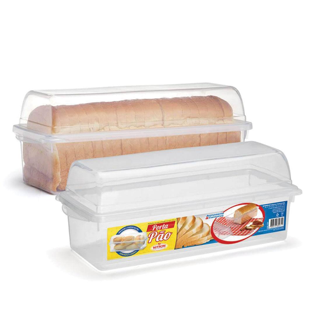 Porta pão armazena e conserva