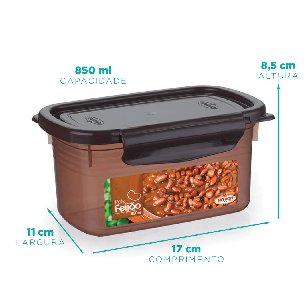 Pote feijão 850 ml