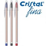 Caneta Esferografica Bic 0,8mm Cristal - Ponta Fina