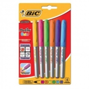 Marcador Permanente Lettering Bic Marker Color Blister