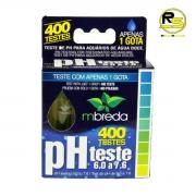 Teste PH 6.0 a 7.6 Mbreda Faz 400 testes Apenas 1 Gota
