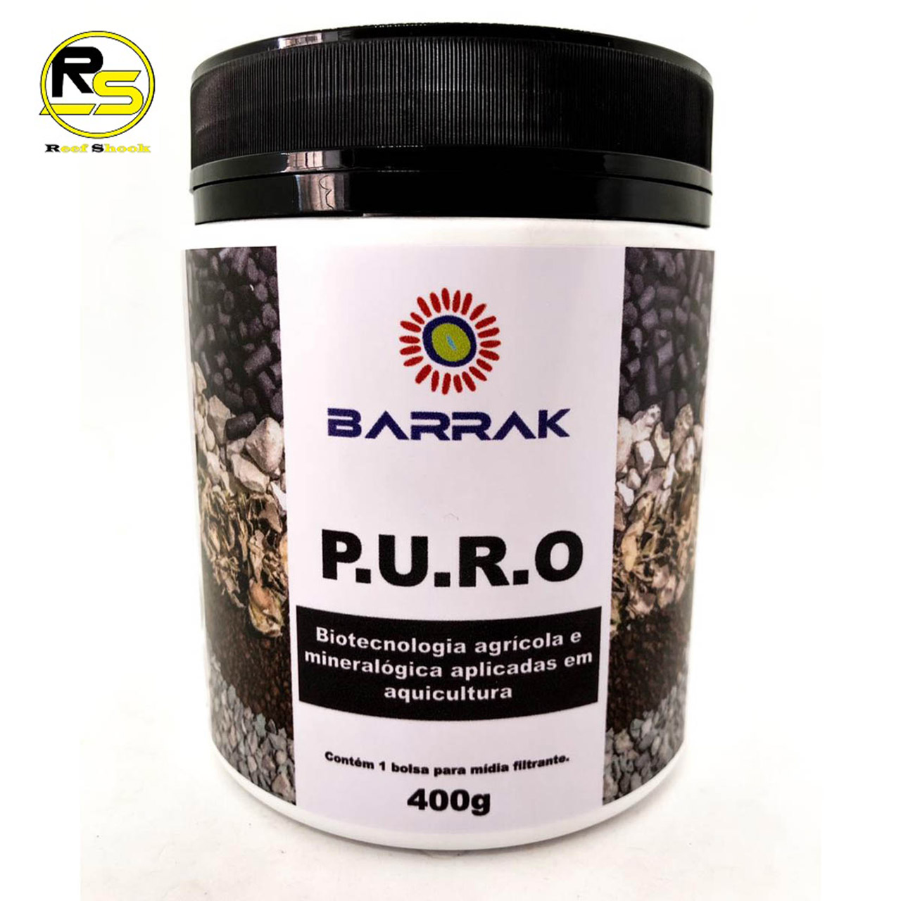 Barrak PURO com Bolsa para Midia Filtrante 400g